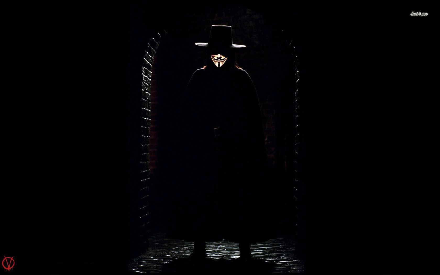 Scary V For Vendetta Q...V For Vendetta Movie Wallpaper
