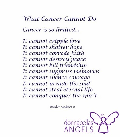 Cancer Quotes And Poems Quotesgram