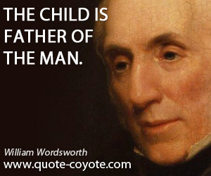 the life and works of william wordsworth William wordsworth, son of john and ann cookson wordsworth, was born on 7  april  wordsworth's early childhood beside the derwent and his schooling at.