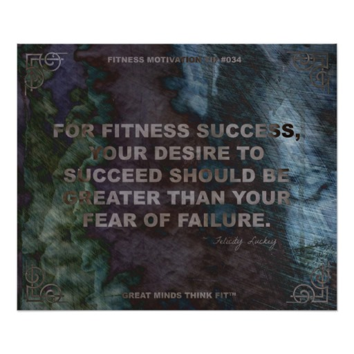 Inspirational Quotes About Failure: Fear Of Failure Positive Quotes Gym. QuotesGram