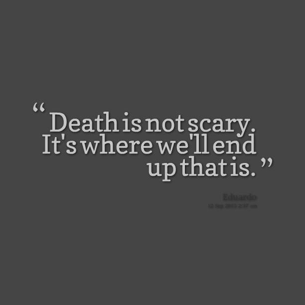 Quotes About The Deep End: Dark Scary Quotes. QuotesGram