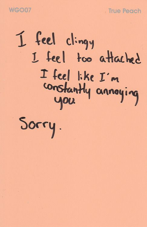 Quotes About Clingy People. QuotesGram