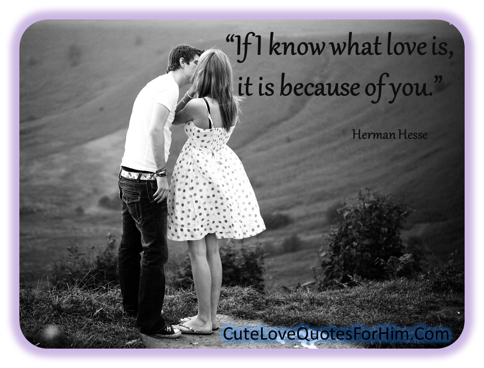 cute love quotes for him quotesgram