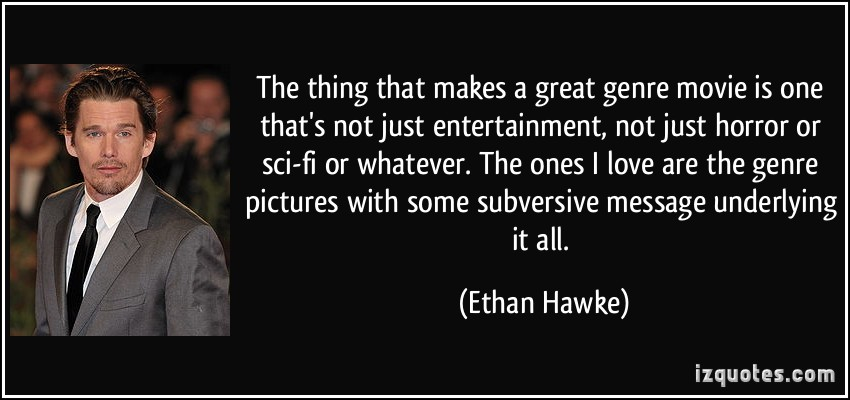 What makes a movie really 'great' to you?