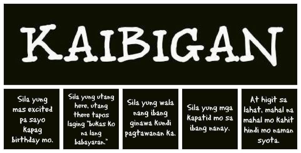 Quotes About Tagalog Friendship Quotes Tungkol Sa Kaib...