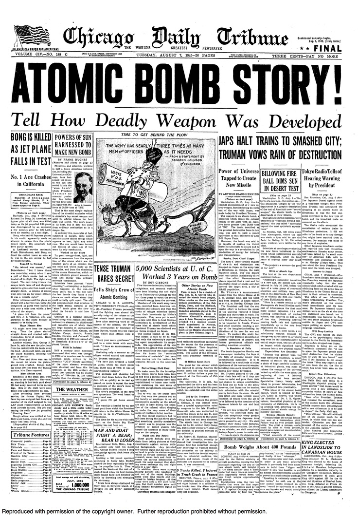 Quotes About Atomic Bomb Dropping Quotesgram