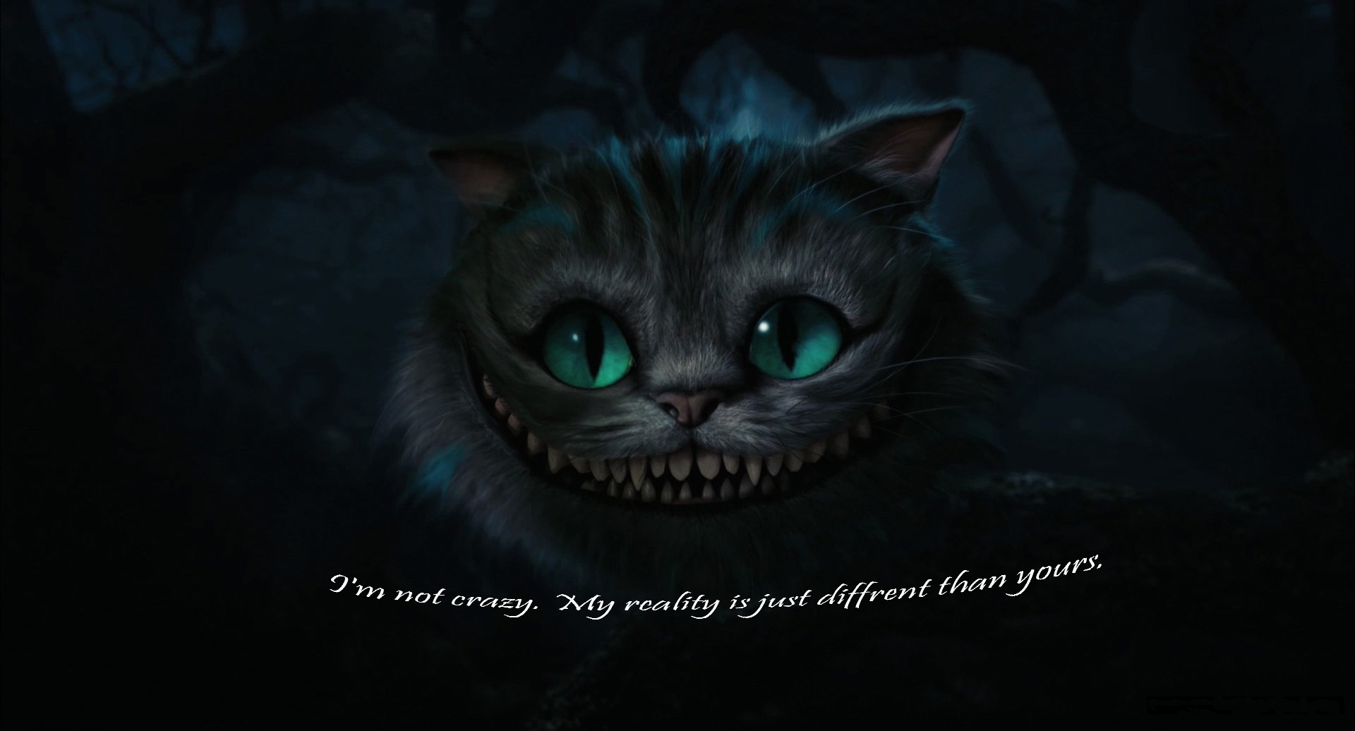 Cheshire Cat From Alice In Wonderland Quotes Quotesgram