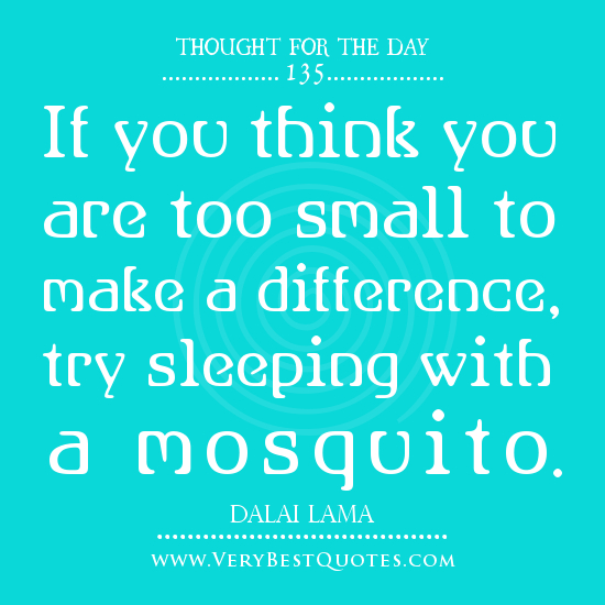 Make A Quote: Make A Difference Day Quotes. QuotesGram