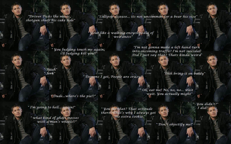 Supernatural Funny Dean Quotes Quotesgram