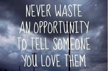 Love tell you them do why someone you What To