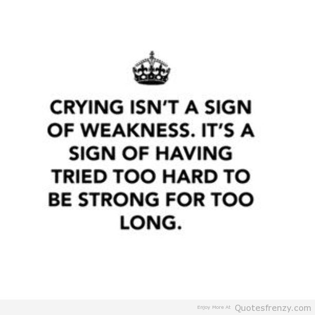 Quotes About Love And Pain: Crying Quotes Pain. QuotesGram