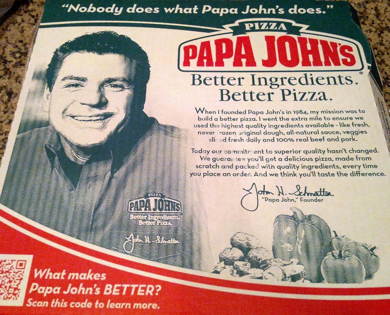 Papa Johns Quotes Quotesgram