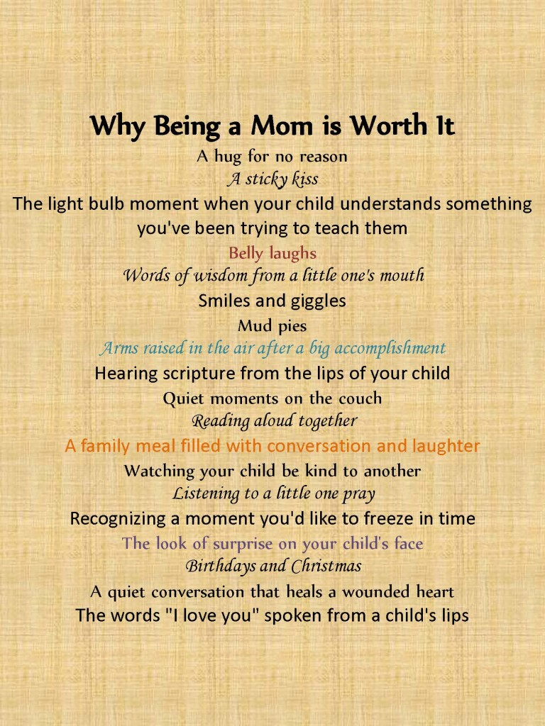I Love Being A Mom Quotes. QuotesGram
