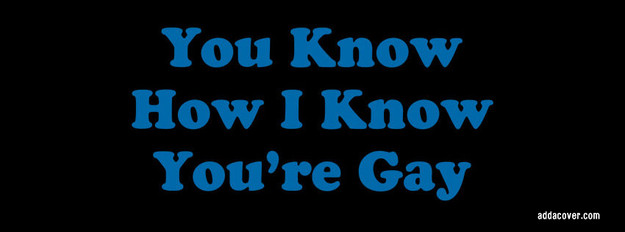 You Know How I Know You Re Gay Quote 52