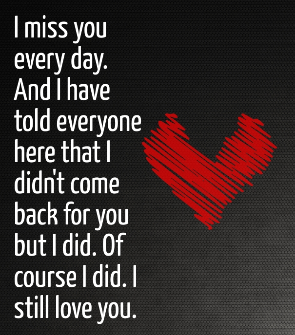 Quotes To Get Your Girlfriend Back. QuotesGram