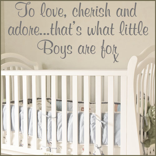 Boys Wall Decal Quotes QuotesGram