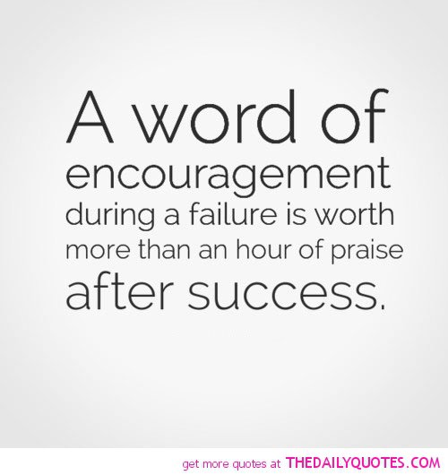 Inspirational Quotes About Failure: Encouragement Quotes For Working Staff. QuotesGram