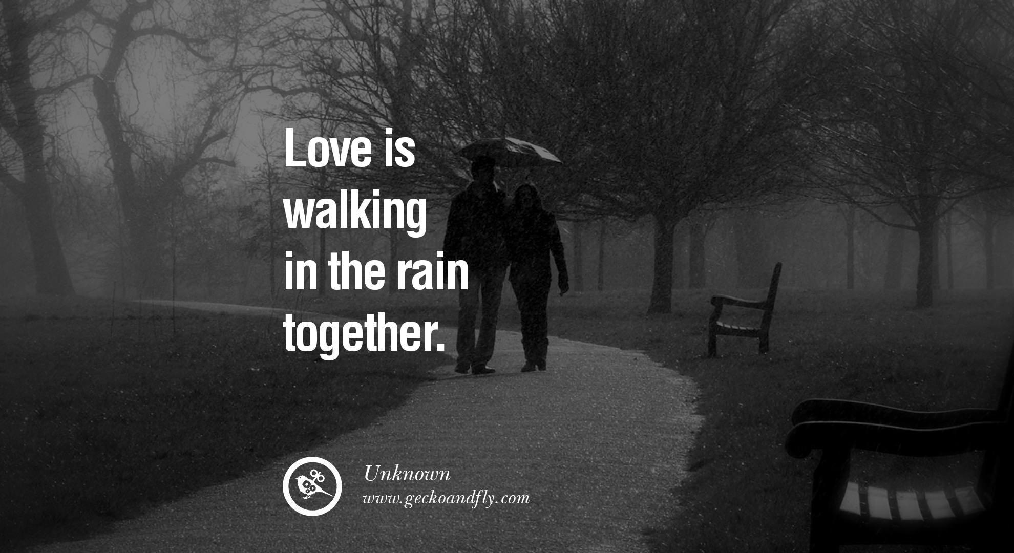 Walking In The Rain Quotes. QuotesGram
