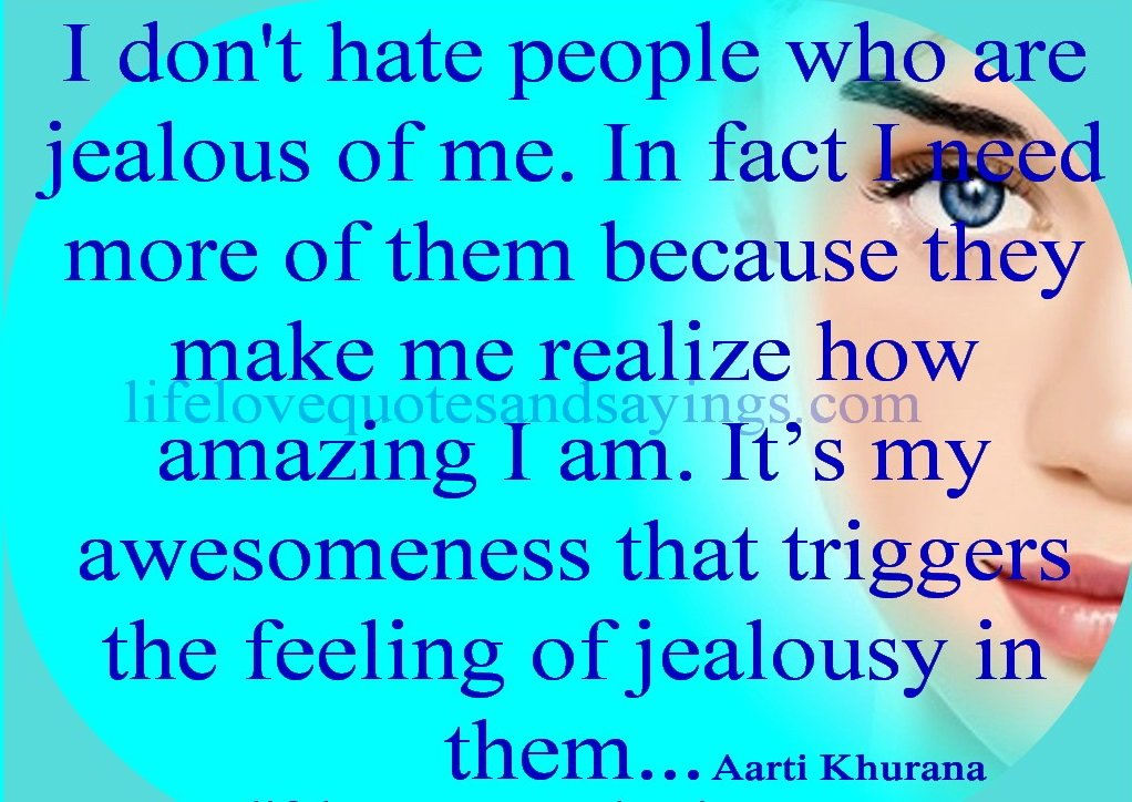 quotes about jealous people - photo #38