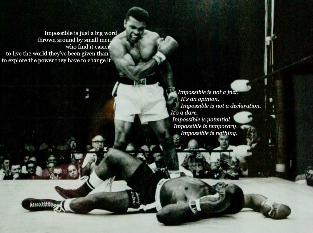 Muhammad ali as the most influential person in the history of american sports essay