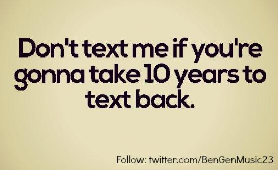 Text why back dont people How It