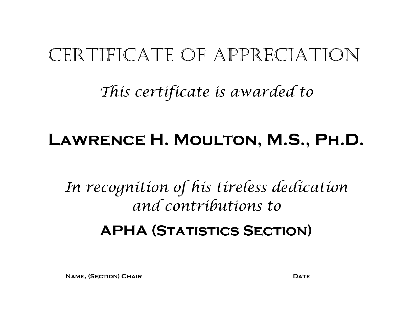 Certificate Of Appreciation Words Word Certificate Template 31 – Thank You Certificate Wording