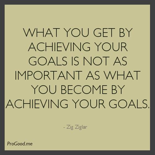 Achieving Goals Quotes: Zig Ziglar Quotes On Goals. QuotesGram