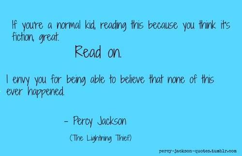 Percy Jackson Tumblr Quotes