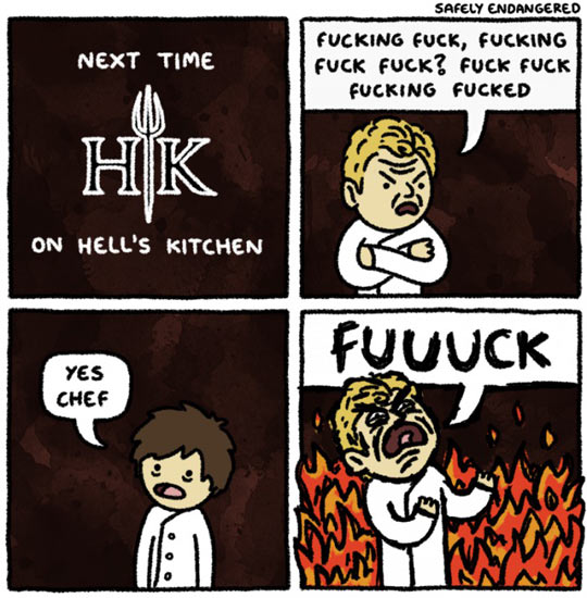 Hell S Kitchen Quotes