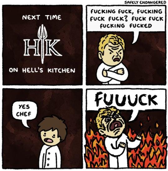 Robin Hells Kitchen