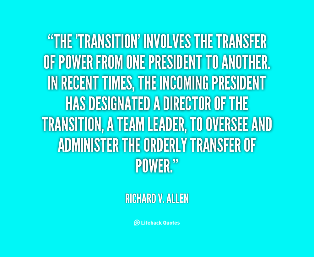 Quotes About Transition. QuotesGram