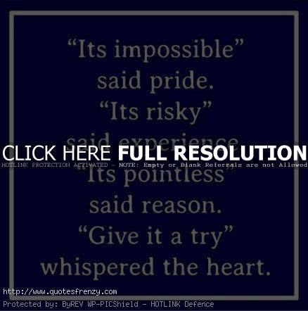 Impossible Quotes Quotesgram