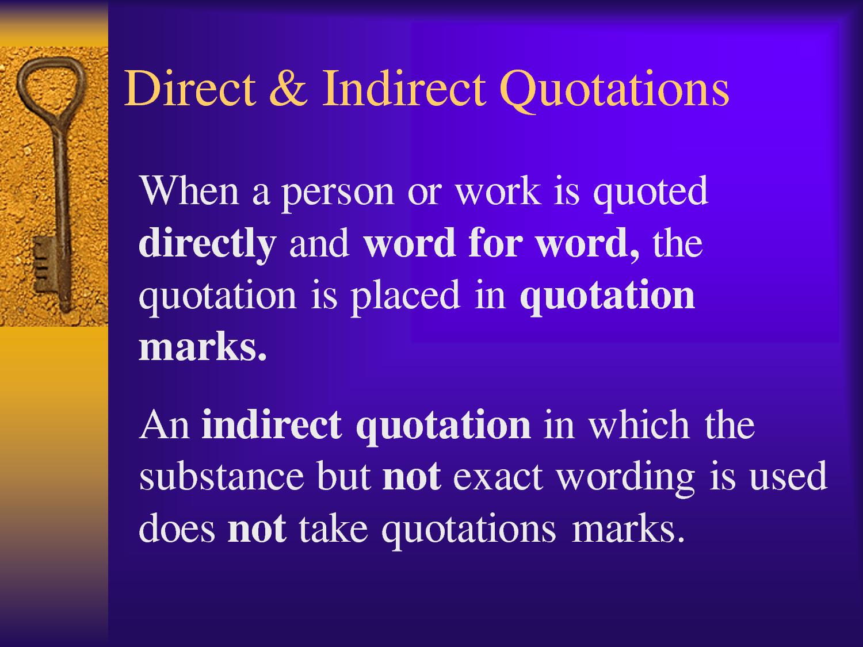 Best Indirect Quotes. QuotesGram