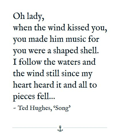 Ted hughes poem tractor