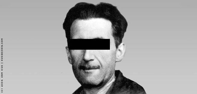 comments on george orwells newspeak Orwell's thoughts on the uses and misuses of  orwell explains the essence of  newspeak as.