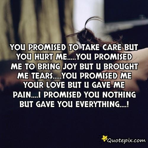 You Hurt Me Quotes. QuotesGram