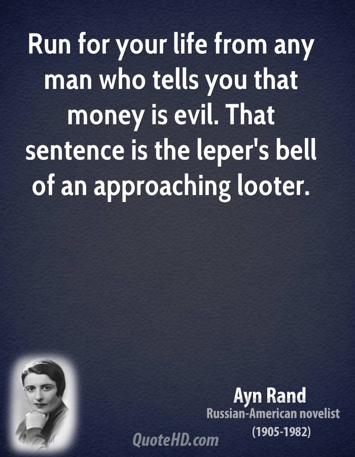 Ayn Rand Quotes Quotesgram