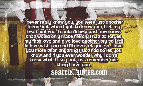 I Miss You More Than Anything Quotes: Friends Before Lovers Quotes. QuotesGram