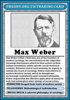 Max Weber and His Theory on Bureaucracy