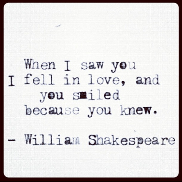 Shakespeare Quotes About Love: Shakespeare Love Quotes And Sayings. QuotesGram