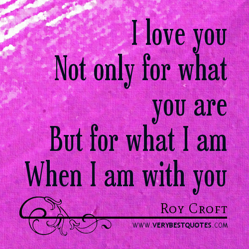 I Love You Quotes: Why I Love You Quotes. QuotesGram