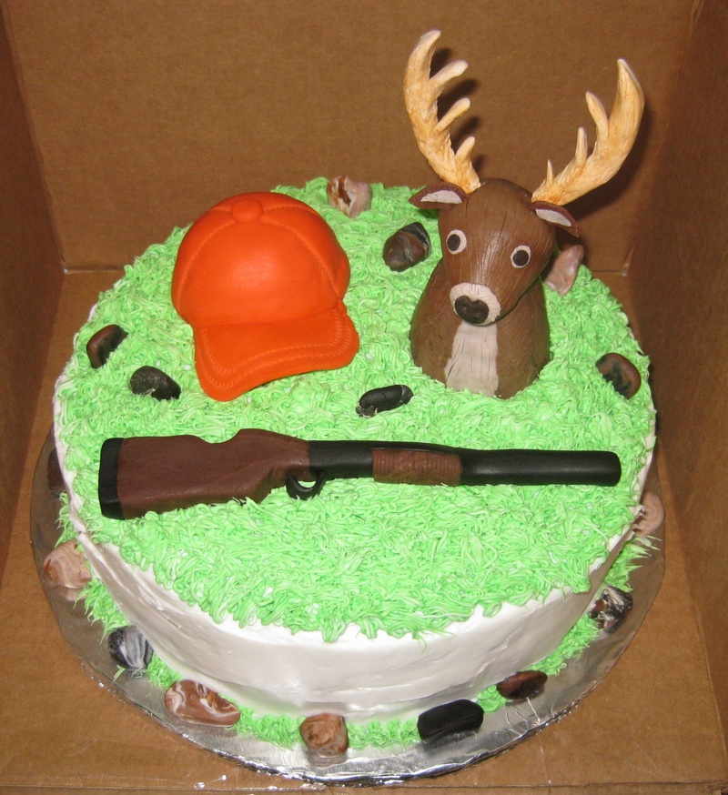 Cake Images For Male To Do With Hunting