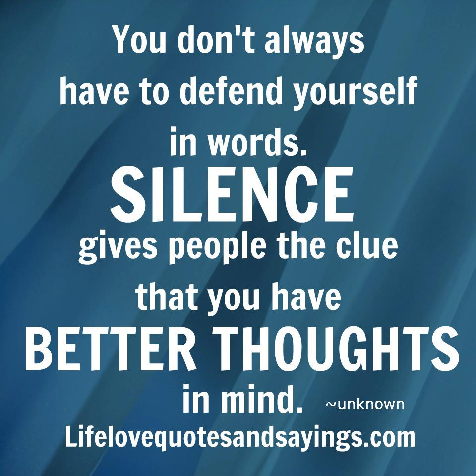 Quotes About Defending Yourself. QuotesGram
