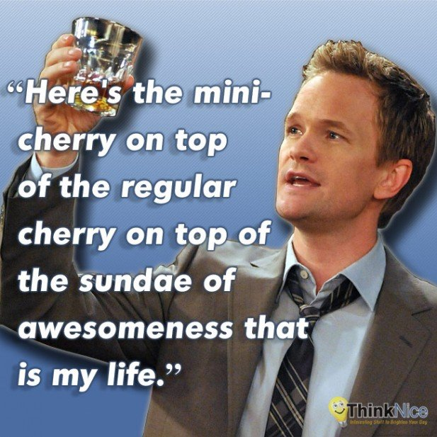 Barney stinson summer dress quote hard