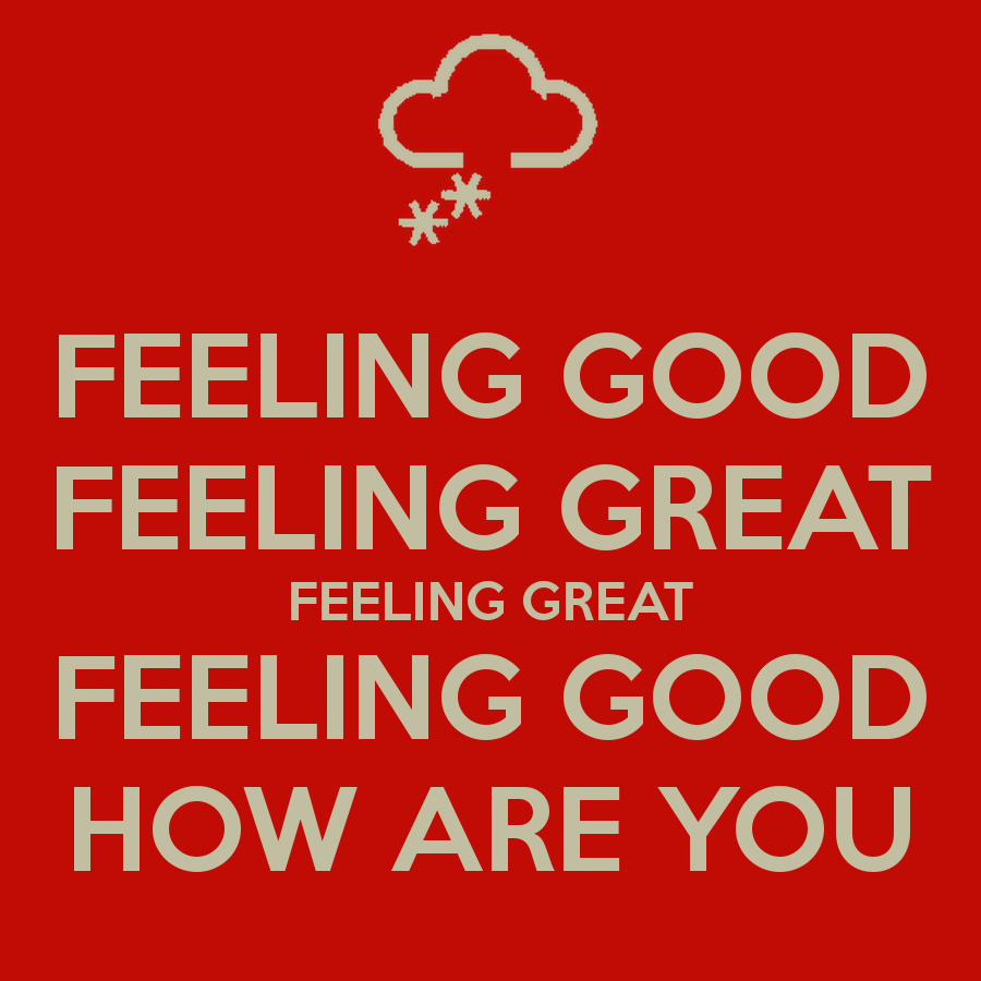 Feelings Good Quotes: Great Feel Good Quotes. QuotesGram