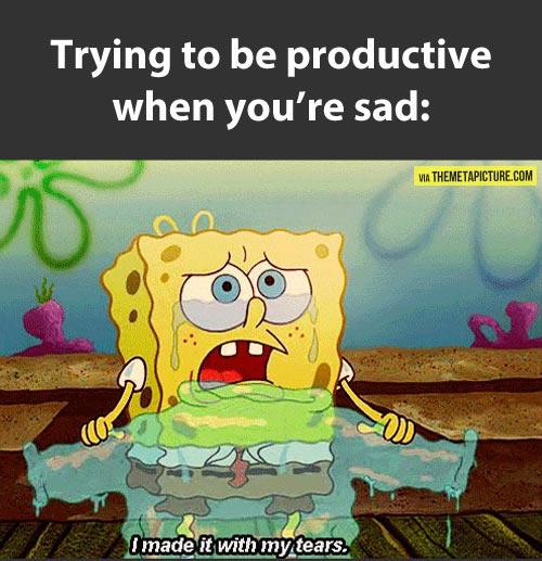 Depressing Quotes Spongebob. QuotesGram