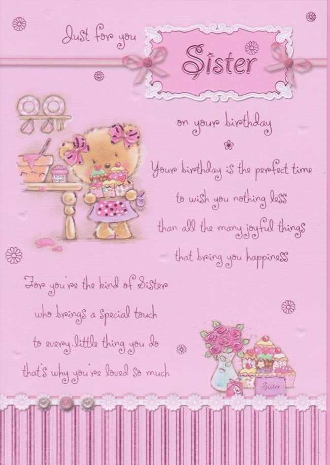Superb Beautiful Birthday Quotes For Sister Quotesgram Funny Birthday Cards Online Inifofree Goldxyz