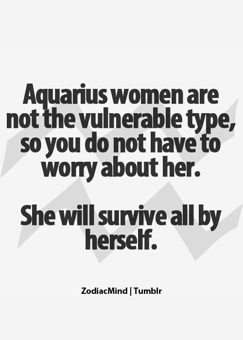 Aquarius Woman Quotes Quotesgram