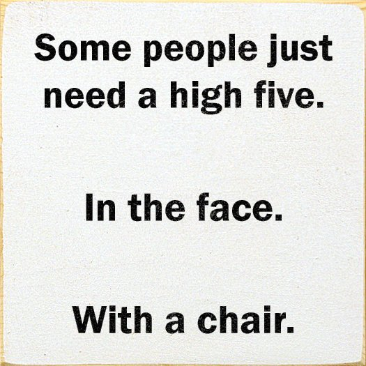 Sad Quotes About Love: High 5 In The Face Quotes. QuotesGram