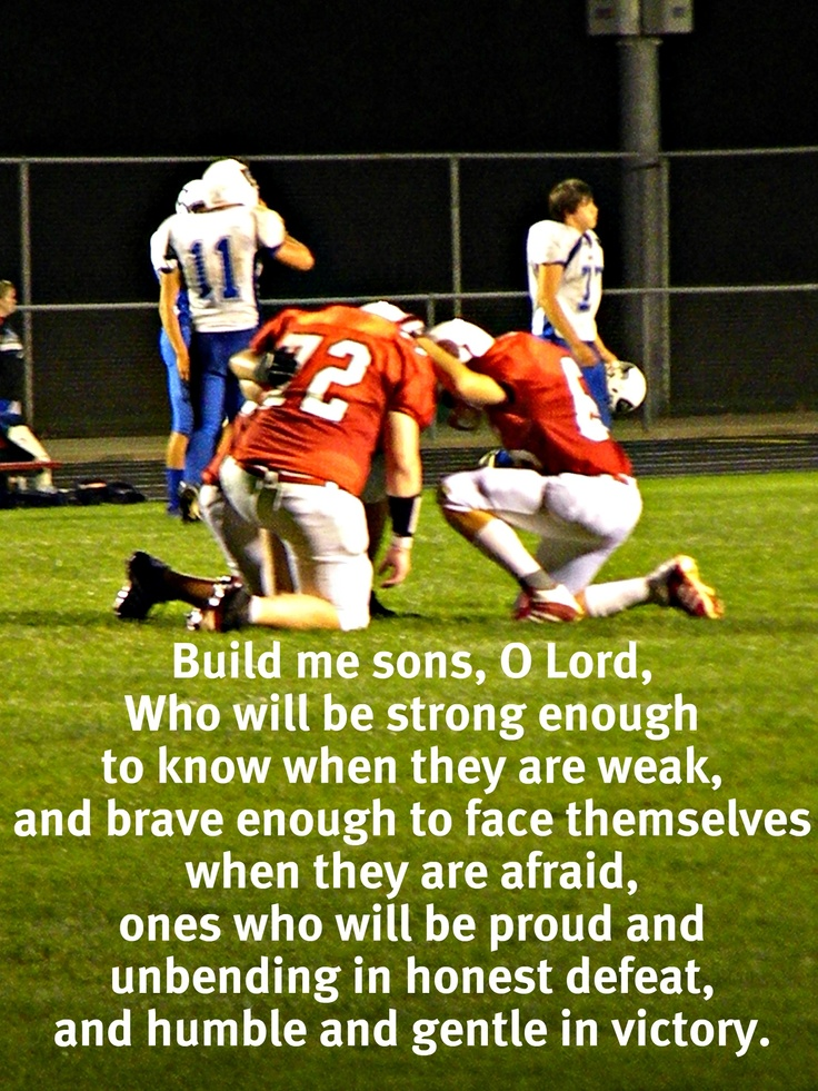 Football Team Motivational Quotes: Quotes About Football And Brotherhood. QuotesGram